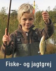 FISKE- OG JAGTGREJ