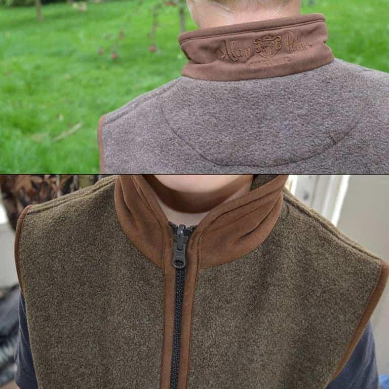 Fleece vest Alysham