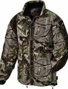 Norkap camouflage fleecetrøje