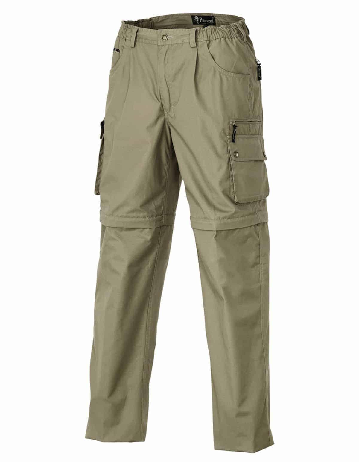 bukser med zip off