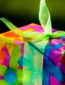 Indpakning til fødselsdag