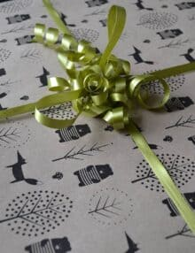 Fødseldag gaveindpakning