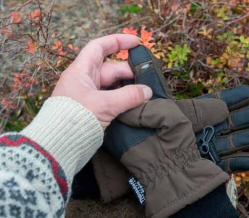 Jagthandske skydefinger
