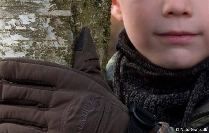 Naturguide.dk test af jagthandsker til børn