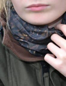 Halskrave camouflage