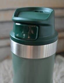 Mug cup one hand grøn