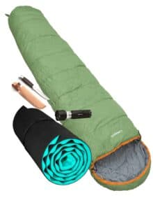Lejr / Camping pakke Junior