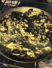 Paella pande