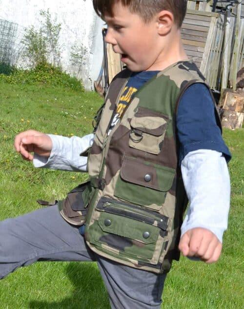 Børne fiskevest