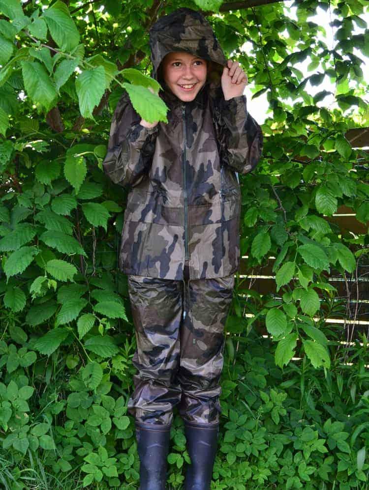 6922b2e942a0 Børne regntøj camouflage - Junior Grej fritidstøj til børn og unge