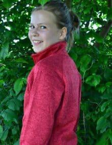 Gabriella fleecetrøje