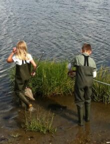 Junior waders