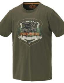 T-shirt med jagtprint
