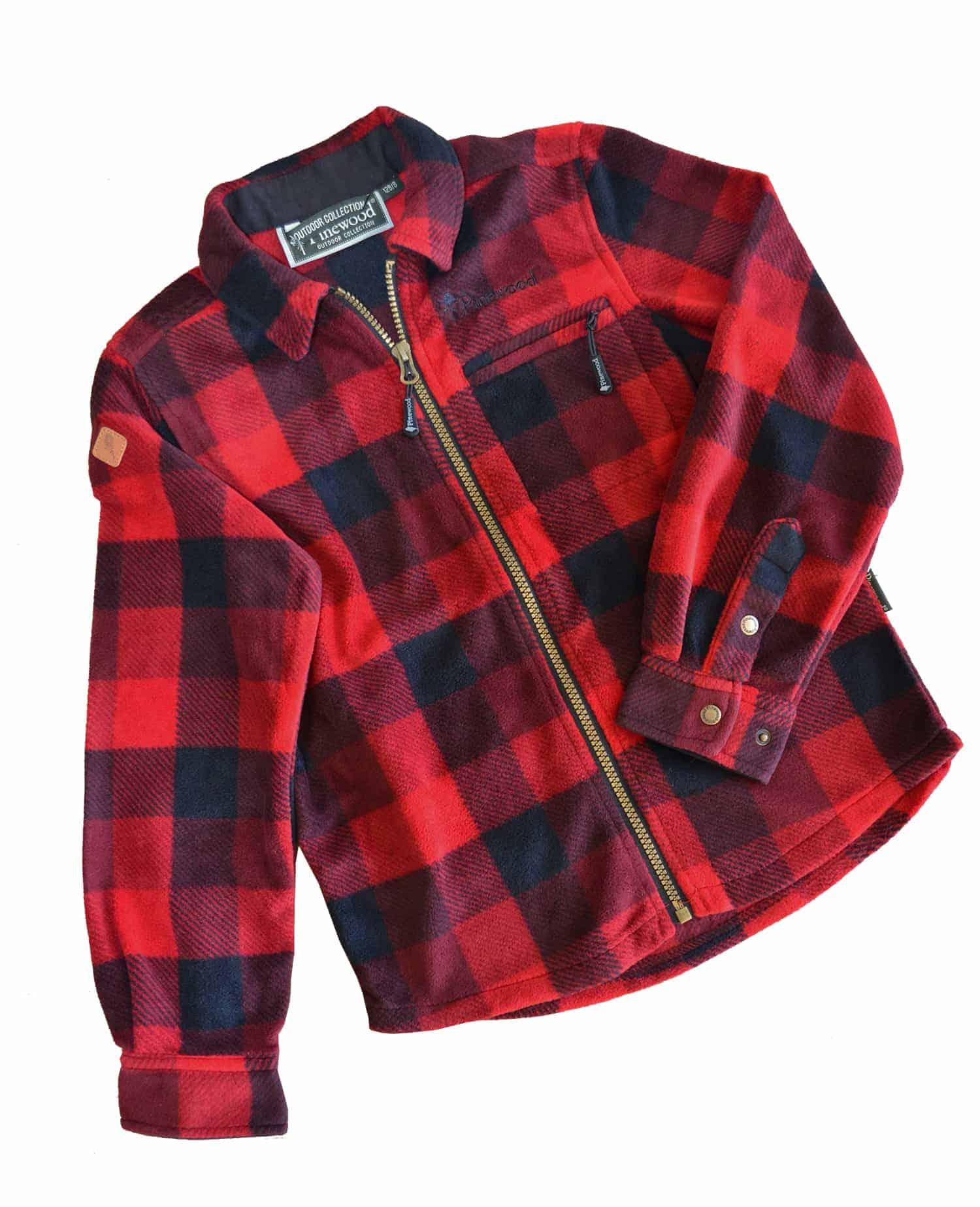 4fb4bef8 Fleece skjorte Kanada - Junior Grej skjorter og fleece trøjer til børn