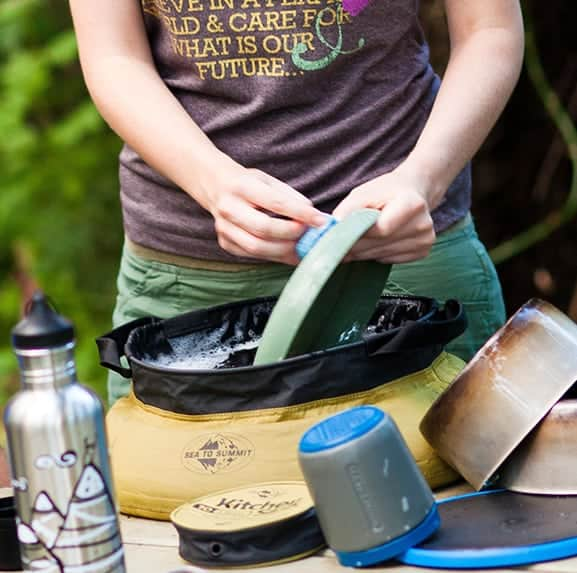 Outdoor køkkenvask