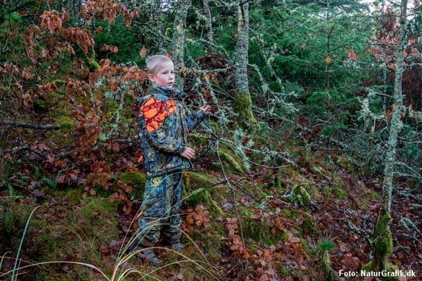 Camouflage jagtsæt til børn