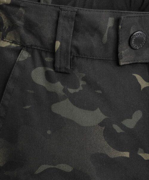Lappland sort camouflage bukser