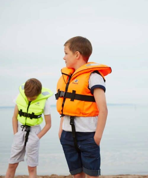 Børne redningsvest skipper
