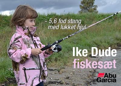 Ike Dude fiskesæt med lukket hjul