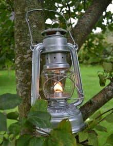 Hurricane lanterne