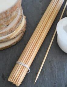 Grillspyd bambus
