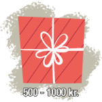 Julegaver 500 - 1000 kr