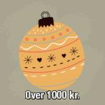 Julegaver over 1000 kr