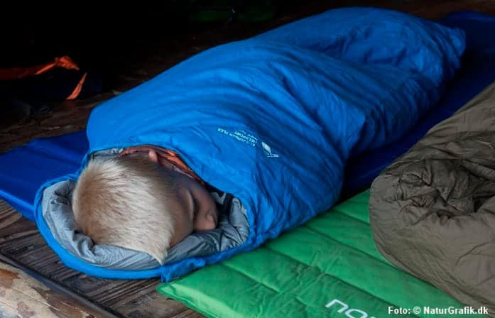 Soveposen, der vokser med barnet