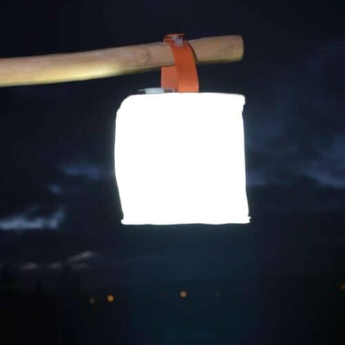 Solcelle lanterne luminAID