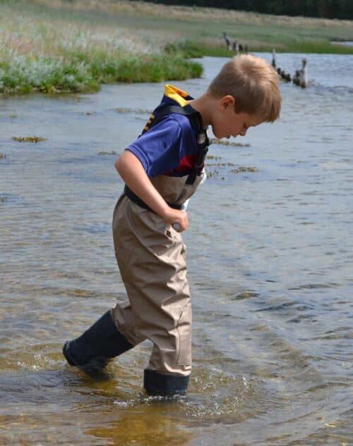 Åndbare waders til børn Matti