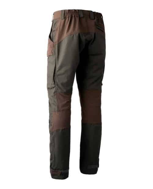 Strike deep green bukser bag