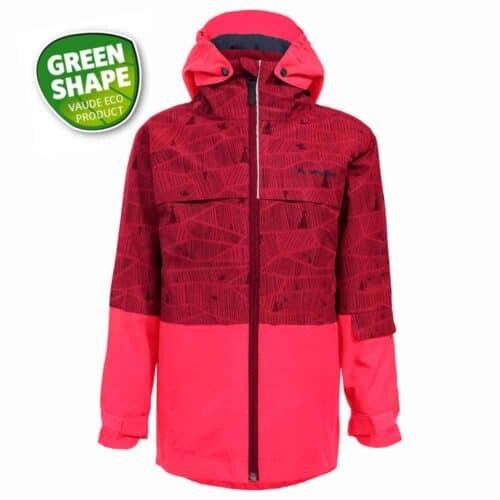 3 i 1 jakke rød front