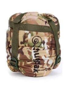 Snugpak kompressionspose camouflage pakket