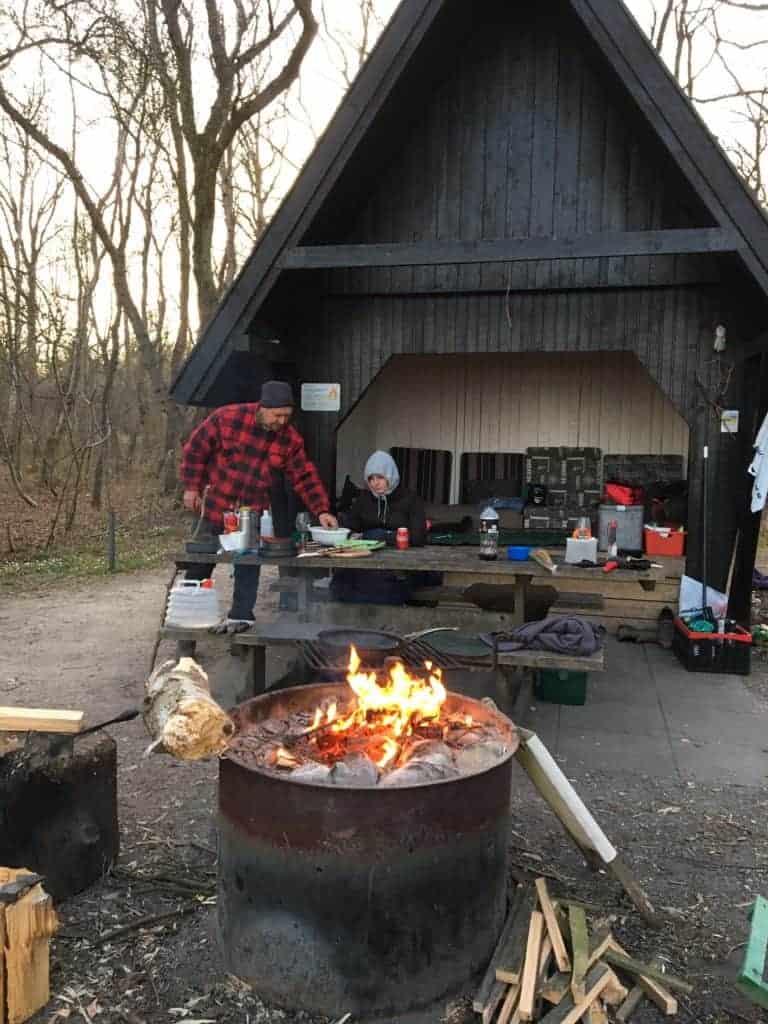 Shelter på Mols
