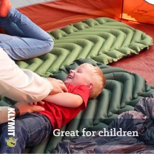 Klymit liggeunderlag til børn