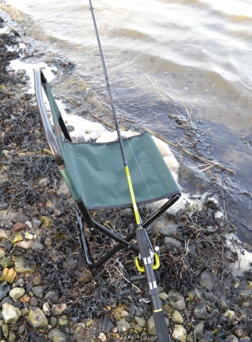 Spin fiskesæt med fiskestol