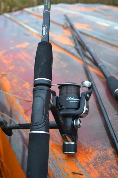 Spin 6 fiskesæt og beta hjul med Spin 8 i baggrunden