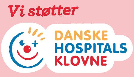 Junior Grej støtter de danske hospitalsklovne