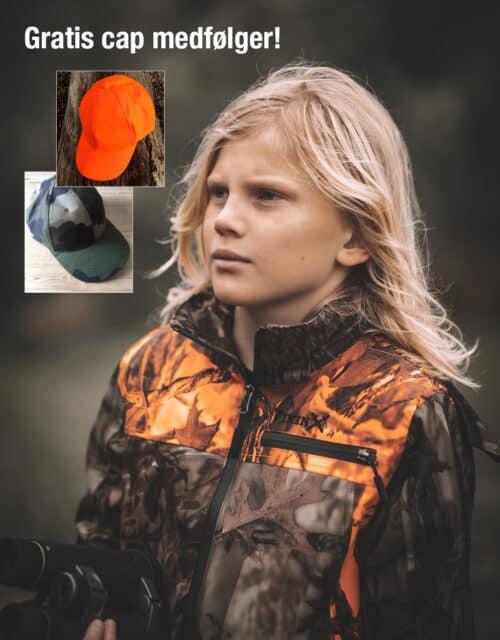 Jagtsæt camouflage - gratis cap medfølger