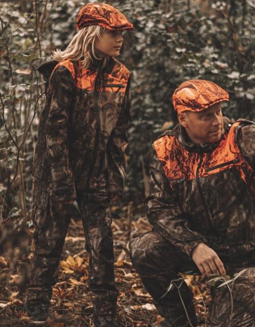 Med far på jagt