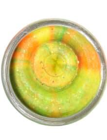 Powerbait hvidløg 31 g. regnbue