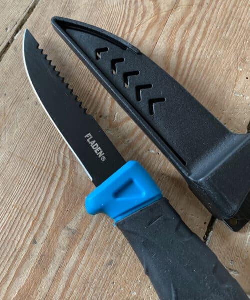 Fiskekniv fra Fladen